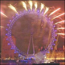 London Eye-New Year's Eve 2006